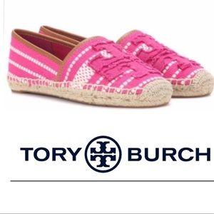 🆕 NWOB! Tory Burch Never a Worn Shaw Espadrilles